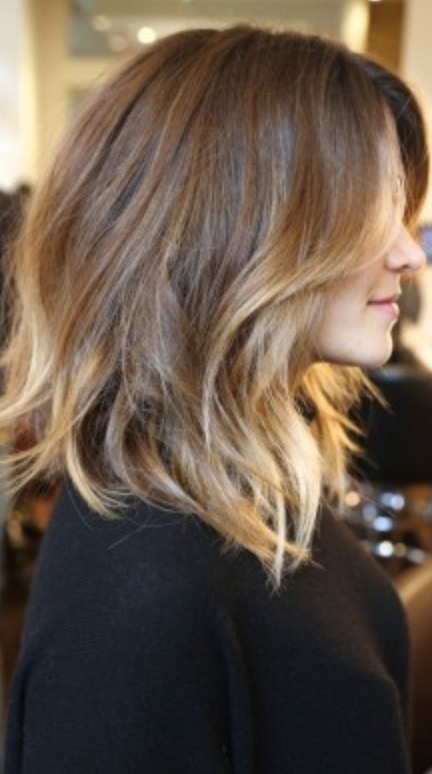 That chocolate brown and blonde combo <3