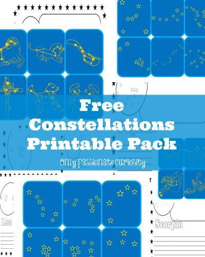 Learning about Constellations: Free Printable Pack -