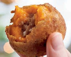 "Sweet Potato ""Arancini"""