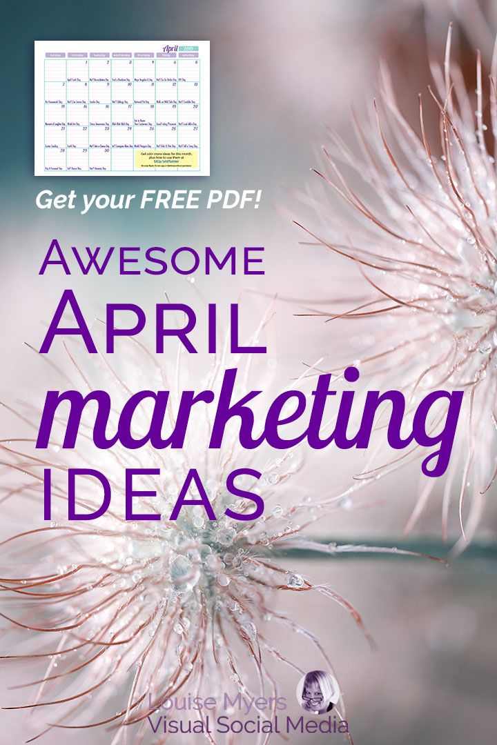 35 Awesome April Marketing Ideas To Inspire Free Download