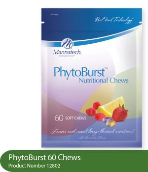 PhytoBurst® Nutritional Chews   The little chew with a huge punch when your needing a good boost of energy.