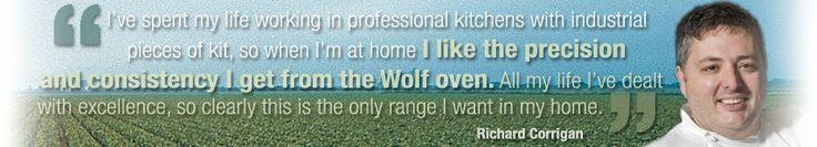 Sub-Zero Wolf - Chefs - Richard Corrigan