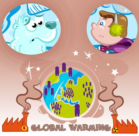 Türkçe çevirili İngilizce hikayeler serimizin dördüncü kitabı.  Global warming.