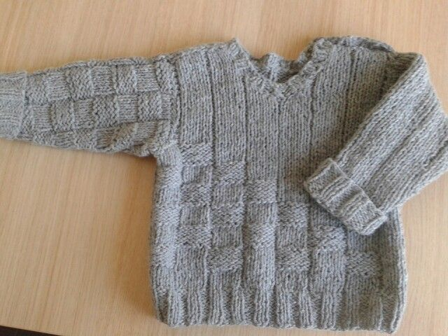 One more sweater for my sweet boy :)
