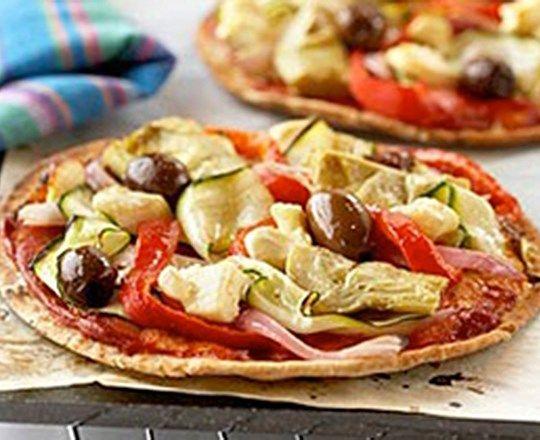 Mediterranean Pizzas