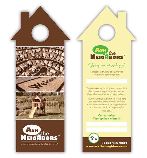 Real Estate Door Hanger Marketing: Door Hanger Ideas | UPrinting Blog