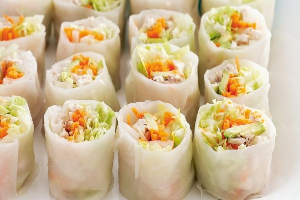 Next time you're craving takeaway spring rolls, look no further than your own kitchen.