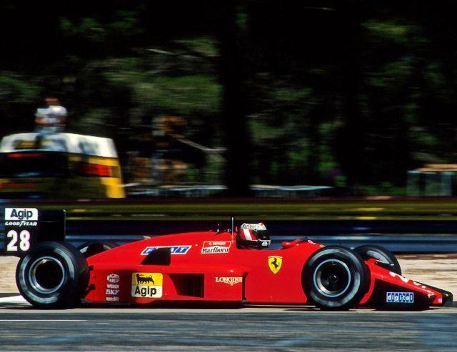 1988 Frankreich Gp Le Castellet Gerhard Berger Ferrari Em 2020