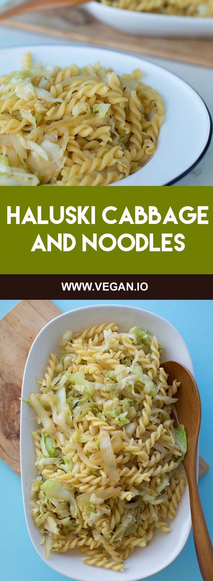 Haluski Cabbage and Noodles