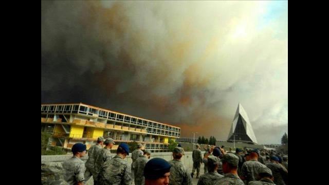 Colorado wildfires: Day 5: Waldo Canyon Fire near Colorado Springs burns several homes, thousands evacuated | 9news.com