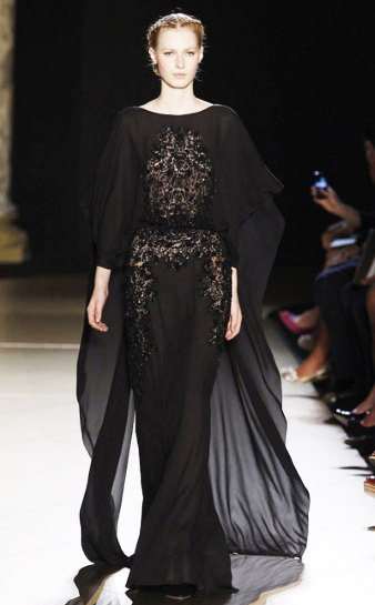 Arabian Nights!  Caftan ( Jalabiyah ) Fall Winter 2012 #Fashion  #Trend   Elie Saab Fall Winter 2012