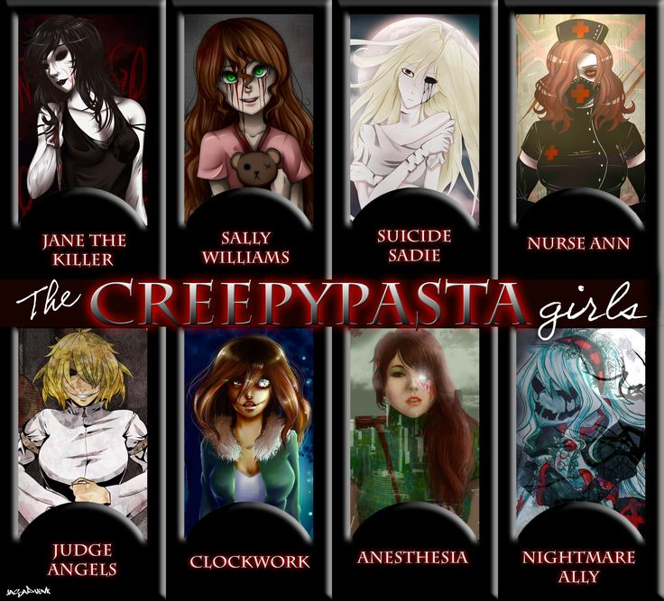 Jane The Killer, Sally, Suicide Sadie, Nurse Ann, Judge Angel, Clockwork, Anesthesla, & Nightmare Ally