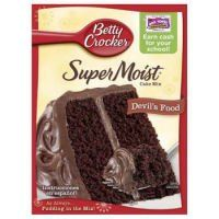 Betty Crocker Super Moist Devils Food Cake Mix 1525 oz * You can find more details by visiting the image link.(This is an Amazon affiliate link and I receive a commission for the sales)