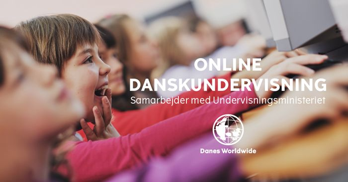 Online Danskundervisning til danske børn bosat i udlandet.