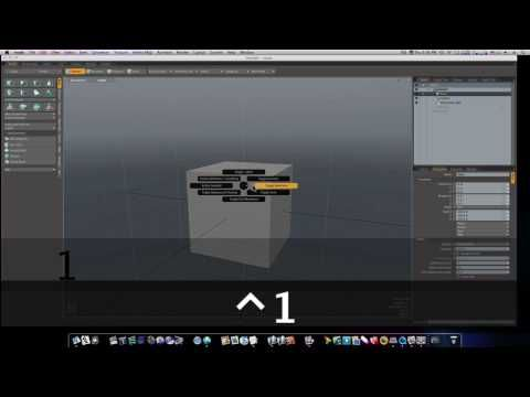 Modo for Noobs: Shortcuts Part 1 - The Pie Menu's Slash and Burn Workflow - YouTube