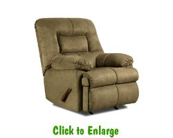 2 Velocity Sage Rocker Recliners By Simmons At Furniture Warehouse | The  $399 Sofa Store |