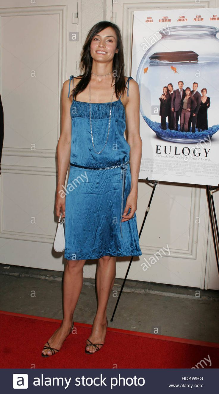 Download this stock image: Actress Famke Janssen, one of the stars of the new film 'Eulogy', arrives at the premiere of the film at Mann's Festival Theatre in Los Angeles, October 12, 2004. The film is being released by Lions Gate Films on October 15. Photo by Francis Specker - HDKWRG from Alamy's library of millions of high resolution stock photos, illustrations and vectors.