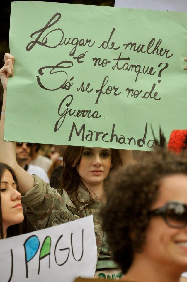 1º  marcha das vadias Maringá