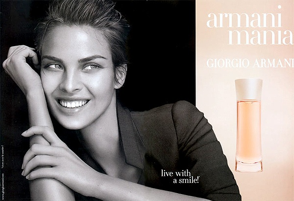 Armani Mania for Her by Giorgio Armani.