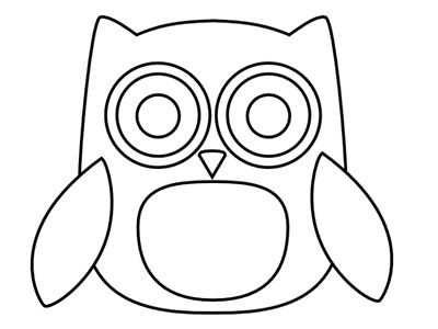 free printable owls for decorations cute owl templates karsyn - Free Printable Cartoon Templates