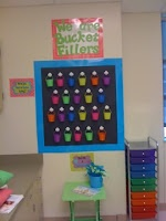 Bucket Fillers...students and teachers can leave positive notes for others in their class.