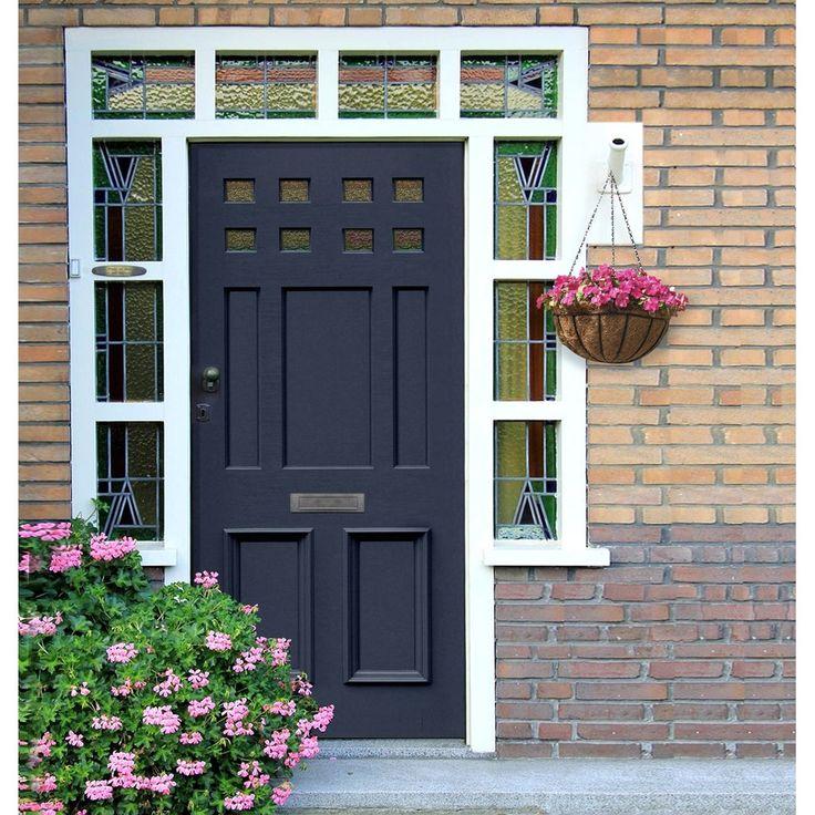 Made to size exterior timber door, Victorian style door, made to measure, top quality manufacture, mouldings to the panels. #englishdoor #frontdoor #victoriandoor