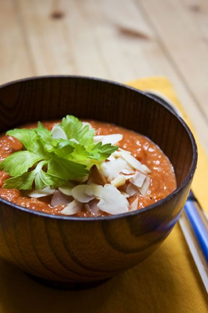 pantry for making recipes like this roasted red pepper and tomato soup ...