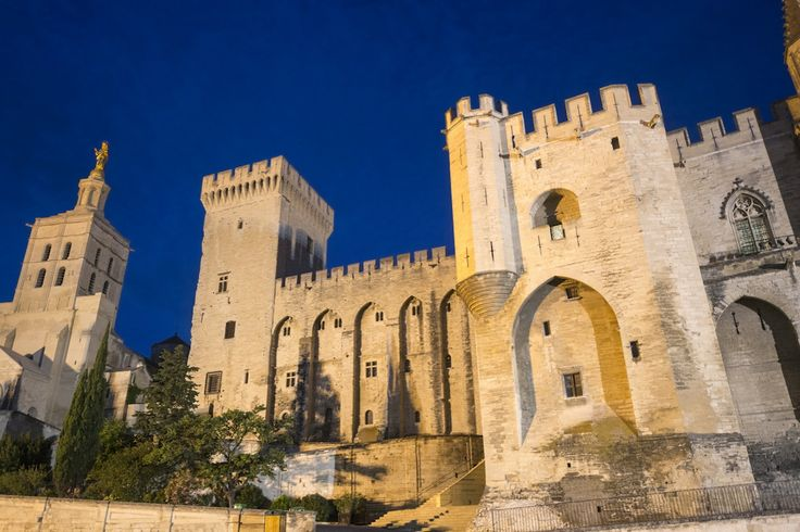 The Palace of the Popes of Avignon is one of the most remarkable representations of the Gothic architecture of the fourteenth century. It symbolized, at the time, the influence of Christianity. © Claudio Colombo - Fotolia.com