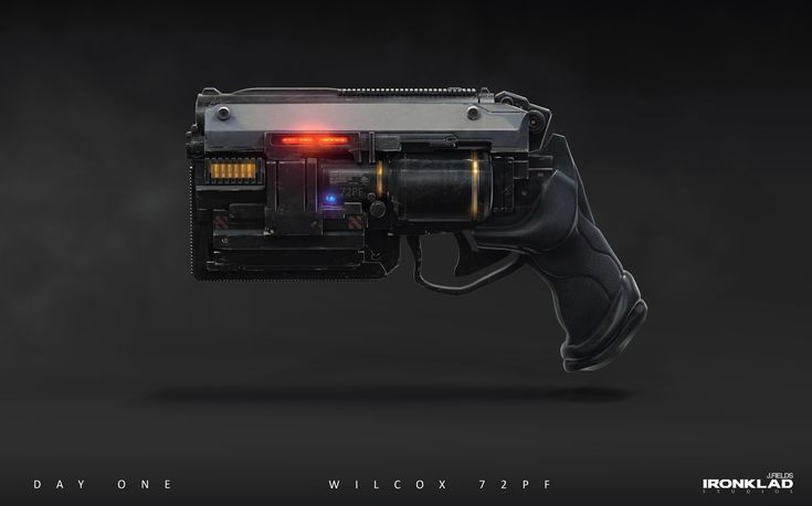 ArtStation - Day One _01 Wilcox 72pf repeater., justin fields