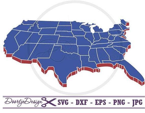 United States Map Svg.Usa Map Svg States Svg United States Of America Svg Usa Svg