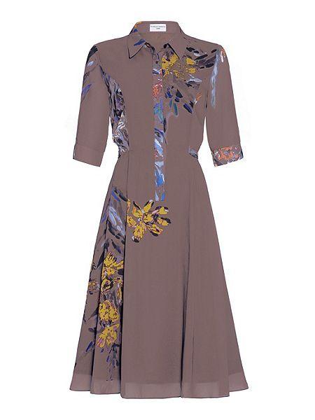 Blossom Shirt Dress  Blossom Shirt Dress