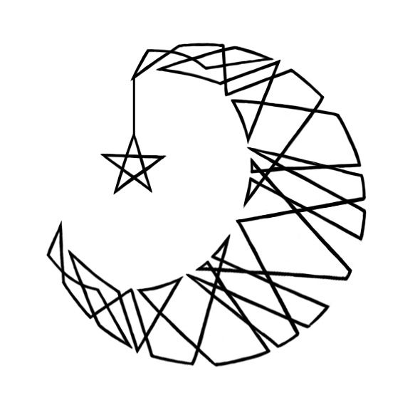 Line Art Moon : Best geometric line tattoo ideas on pinterest
