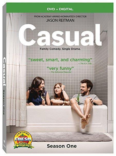 Tommy Dewey & Mikaela Watkins & Jason Reitman-Casual Season 1