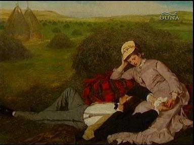 Szinyei Merse Pál: Szerelmespár (festmény)