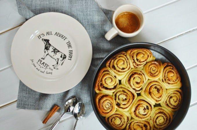 FoodLover: Skořicové šneky s ořechy