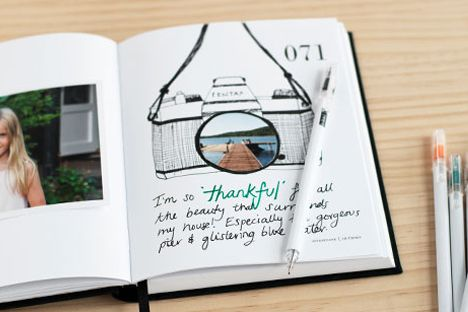 Journaling Prompt #51  Take a photo of something you're thankful for and stick this in today's entry. It can be anything you like, but it should be inspiring and act as a reminder to actively embrace gratitude.