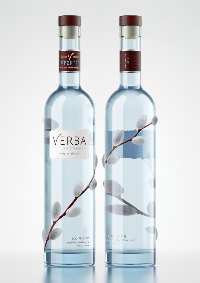 Verba Vodka (Concept) on Packaging of the World - Creative Package Design Gallery