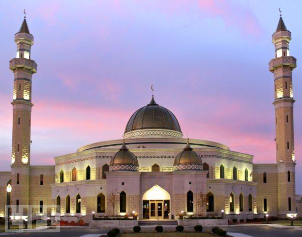 Islamic Center of America Masjid  , Dearborn (USA).