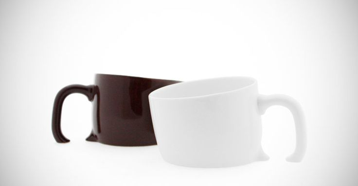 Treasure Mug (1,260 yen) is a creative ceramic coffee mug designed to appear sunken into the surface of your table or desk — like treasure half-buried in the sand. $16.00