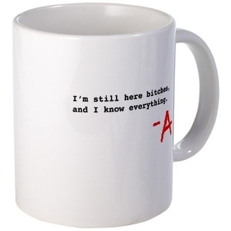 Pretty Little Liars | 24 TV Show Coffee Mugs That Are Perfect For Both Your Coffee And TV Addiction