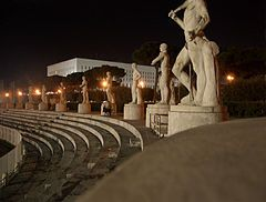 Resultado de imagen para Foro Itálico Mussolini 1926