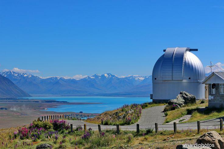Lake Tekapo from the My John Observatory Lookout.