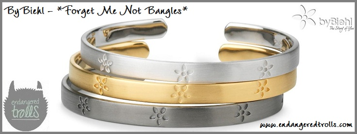 ByBiehl Forget Me Not Bangle
