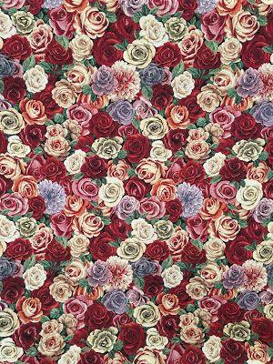 www.skumhuset.dk - vilde print roser blomster