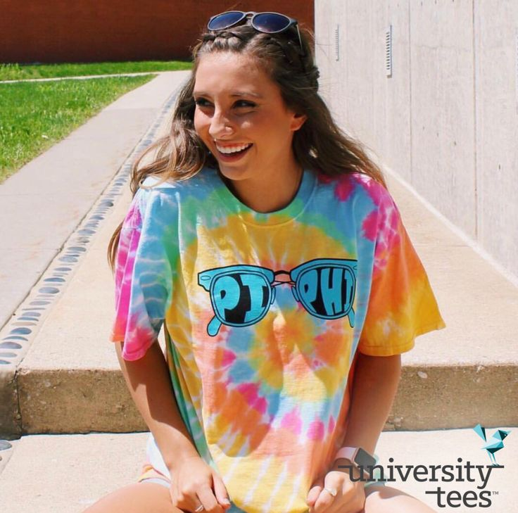 here comes the sun ☀️ | Pi Beta Phi | Made by University Tees | universitytees.com