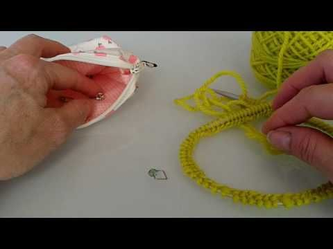Extra Stretchy - German Cast On Edge For Hats, Socks, Etc... - YouTube