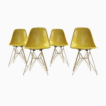 DSR Stühle Von Charles Eames Für Herman Miller, 1960, 4er Set Jetzt  Bestellen Unter: Https://moebel.ladendirekt.de/kueche Und Esszimmer/stuehle Und Hocker/  ...