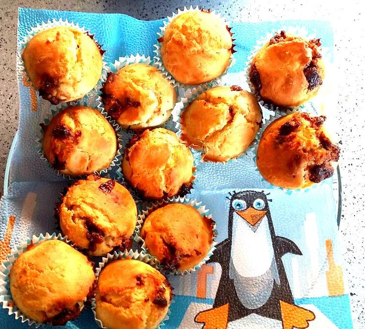 Milka Oreo- muffin