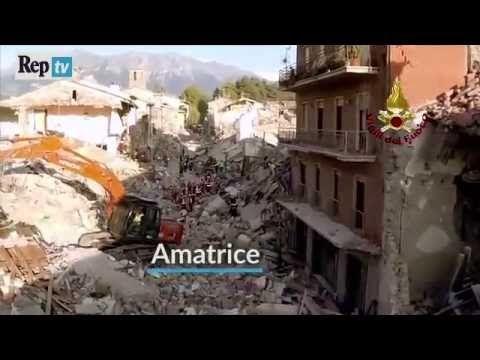 Tg Tramonti - Amatrice, terremoto secondo giorno - YouTube