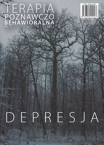 Czasopismo Terapia Poznawczo Behawioralna